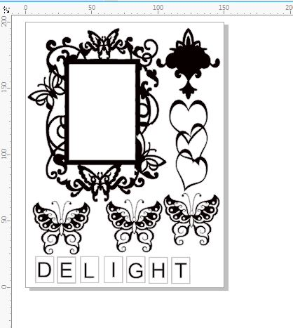 DELIGHT PAGE PACK  150 X 200 ALL YOU NEED FOR A GREAT PAGE  min