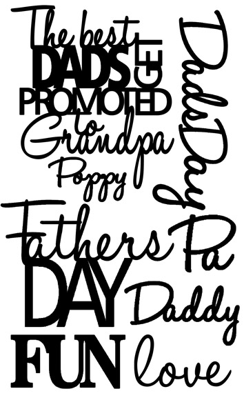 The best dads get promoted to  grandfathers day, 110 x 180mm min