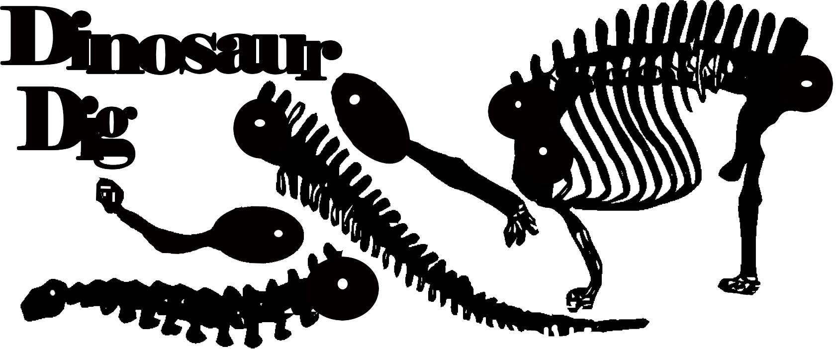 Dinosaur diplodicus skeleton 180 x 59mm sold individually