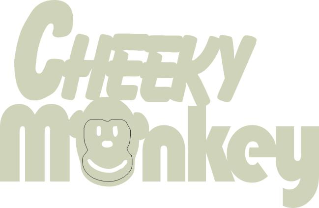 Cheeky Monkey 146 mm x 95 mm   min buy 3